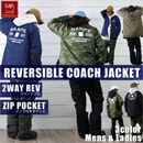 REVERSIBLE 2WAY COACH JACKET/FR