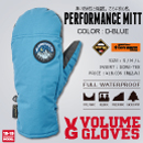PERFORMANCE MITT/D-BLUE
